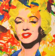 famous painting Marilyn monroe of James Gill