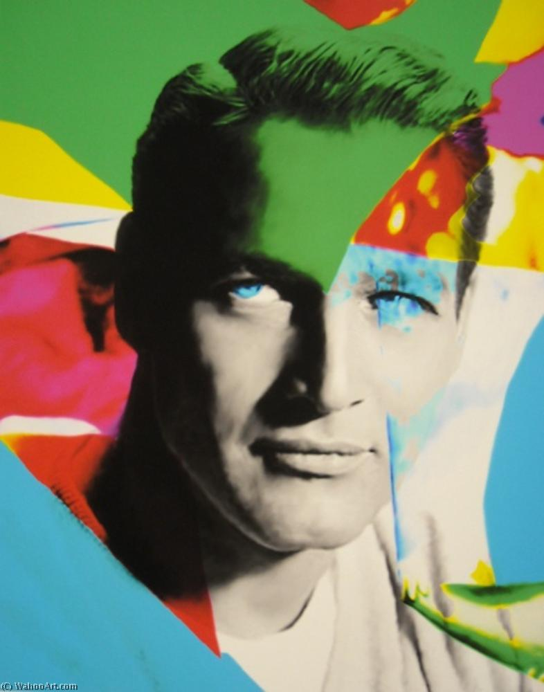 famous painting Paul newman of James Gill