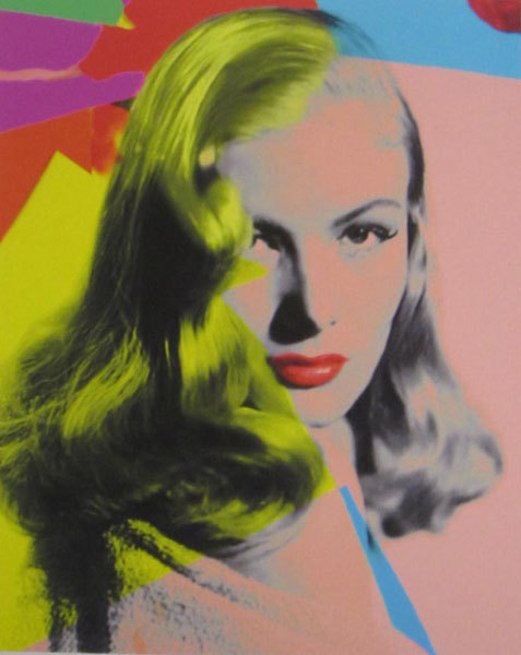 famous painting Veronica lake yellow of James Gill
