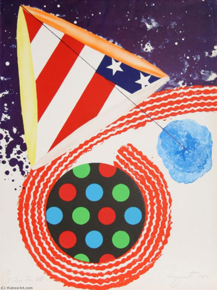 famous painting A free for all of James Rosenquist