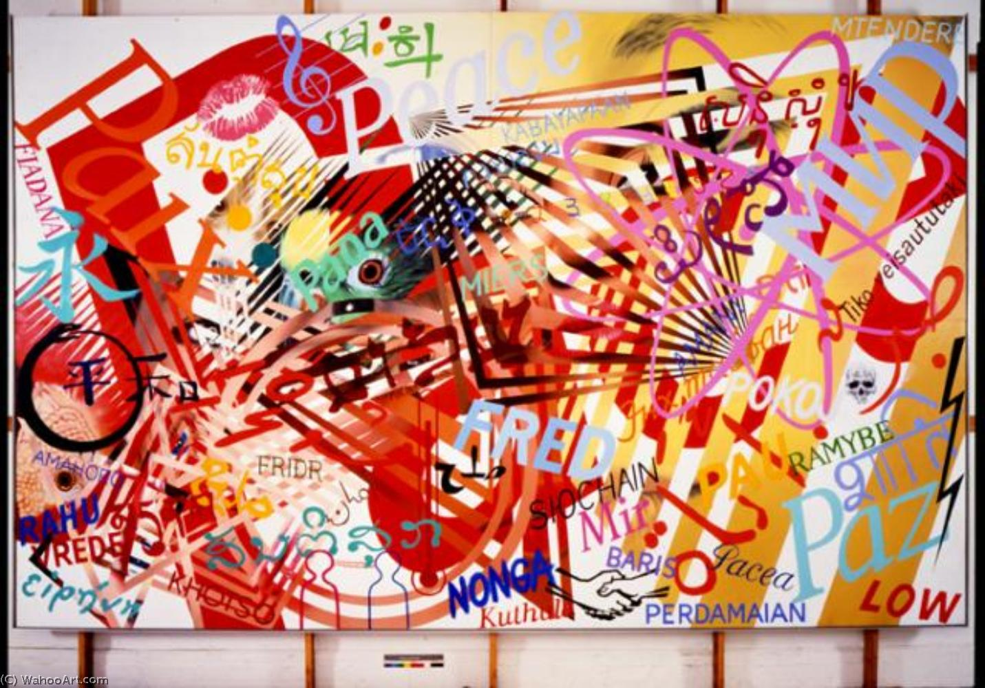 famous painting Animal screams of James Rosenquist