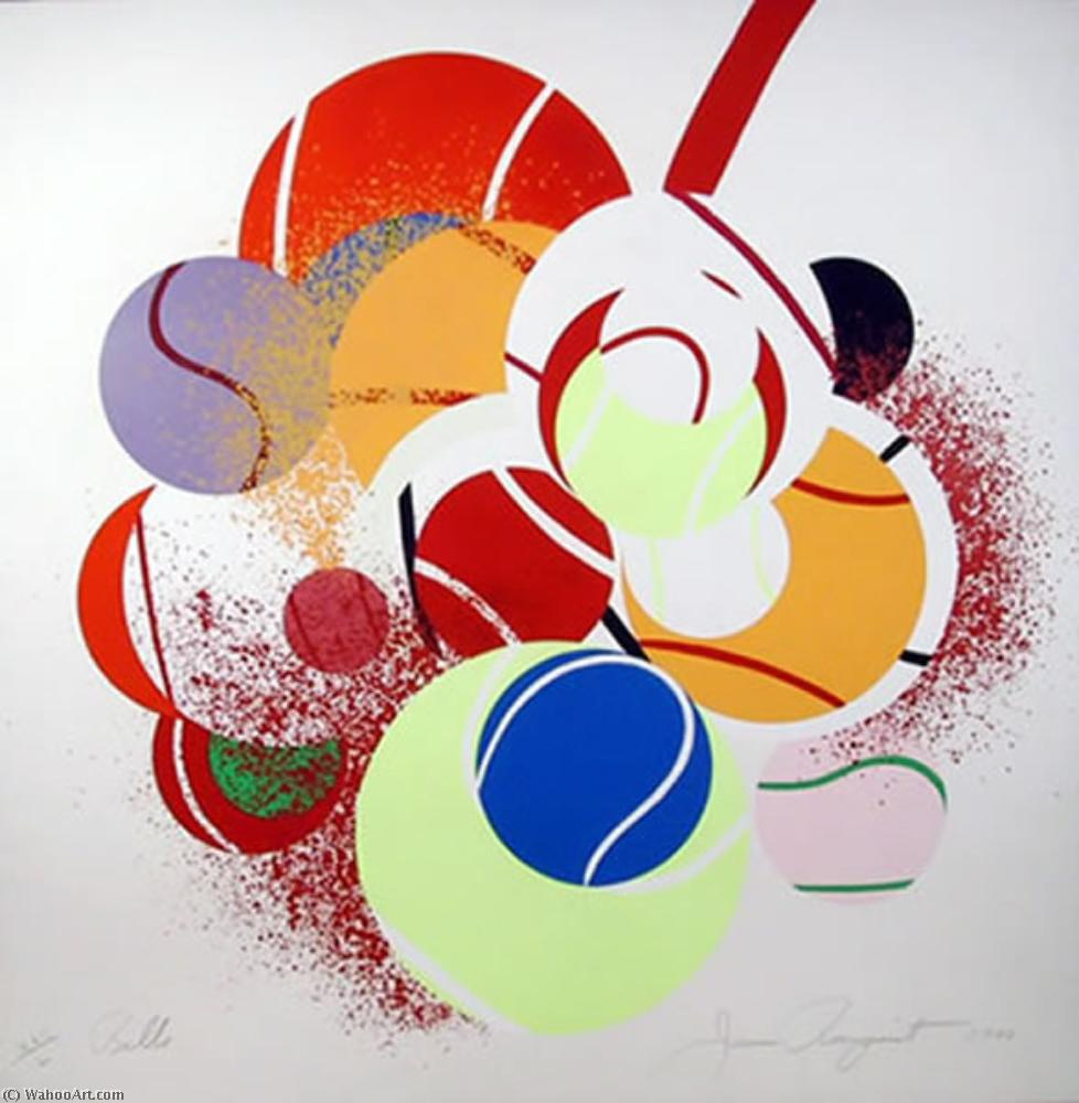famous painting Balls of James Rosenquist