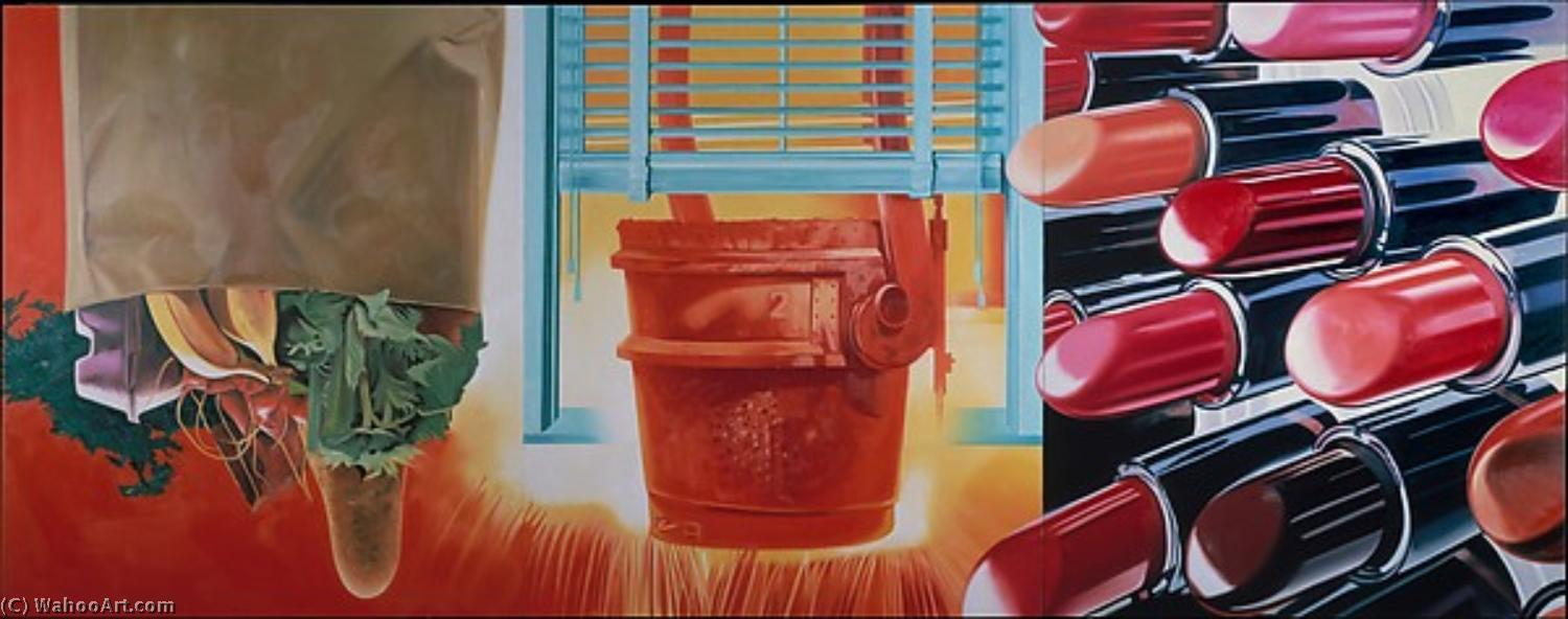famous painting Beautiful Rosenquist House of Fire of James Rosenquist