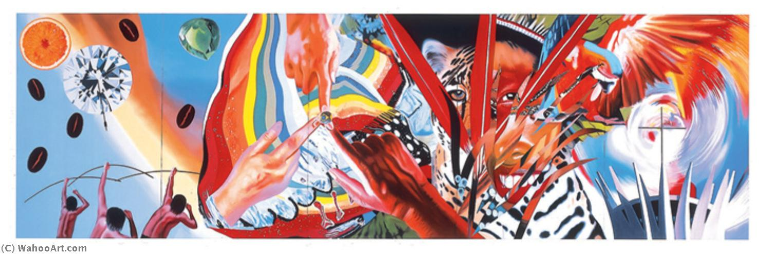 famous painting Brazil of James Rosenquist