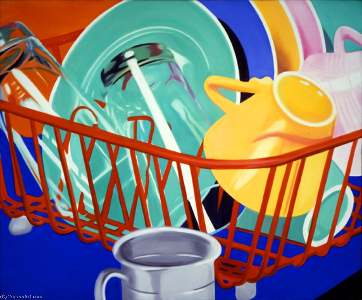 famous painting Dishes of James Rosenquist