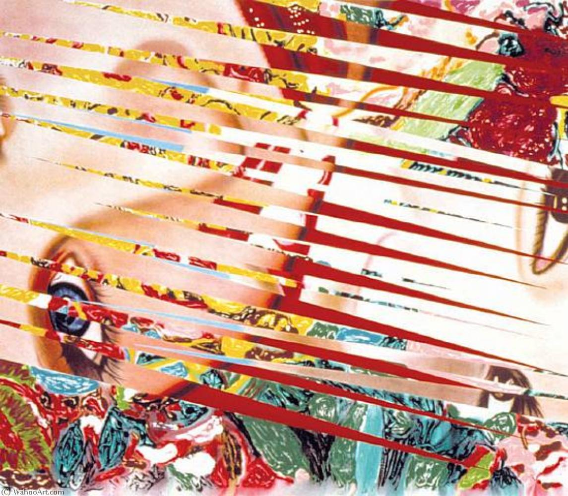 famous painting Flowers and females of James Rosenquist