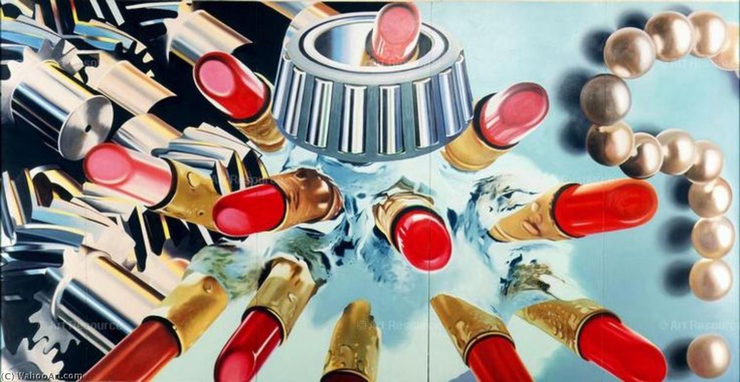famous painting Gears of James Rosenquist