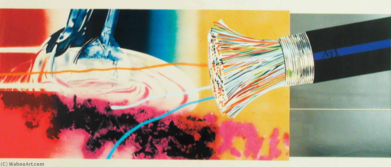 famous painting Horse blinders of James Rosenquist