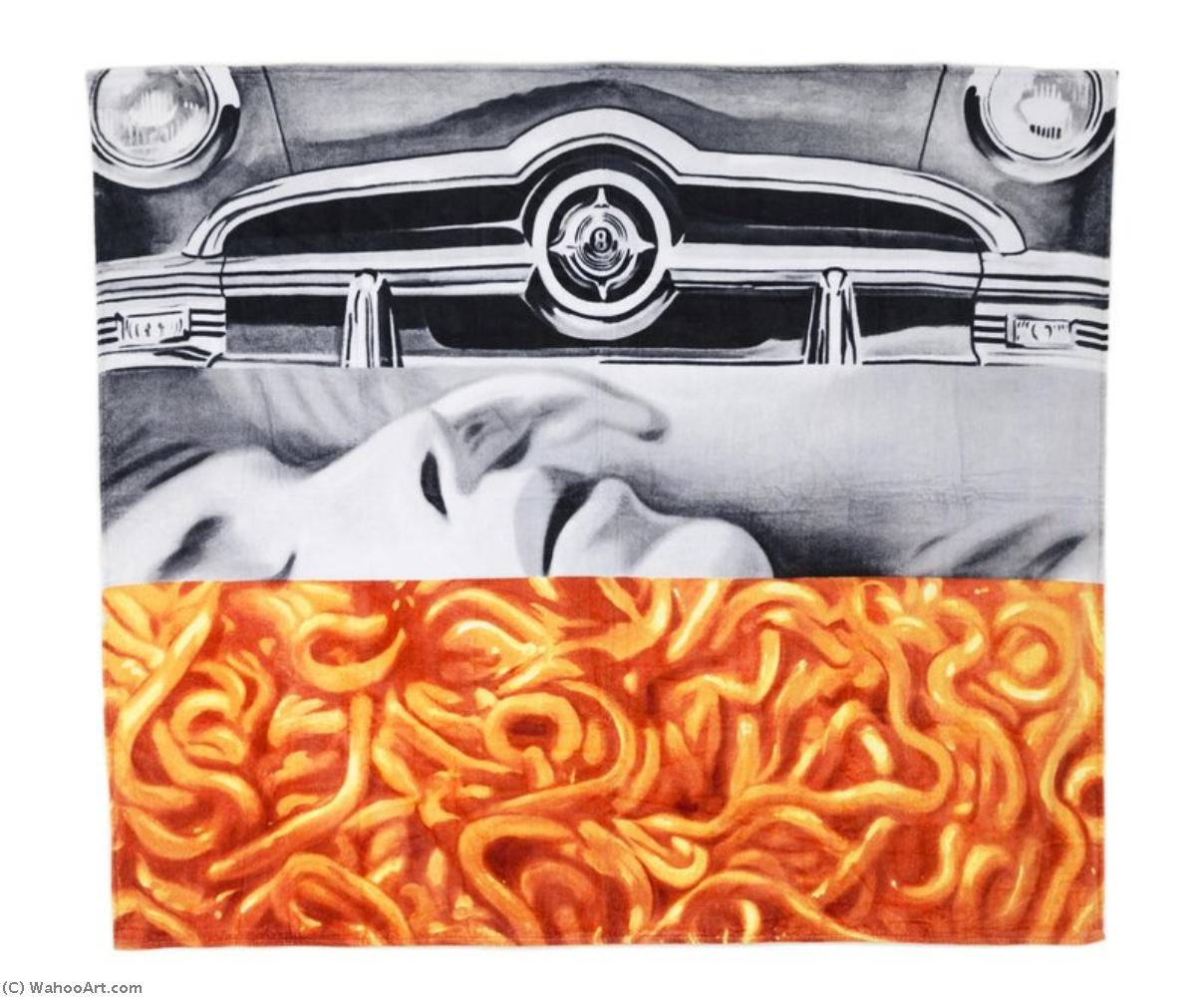 famous painting I love you with my ford of James Rosenquist