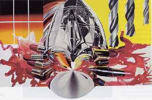 James Rosenquist - The Swimmer in the Econo-mist