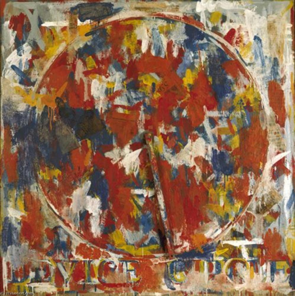 famous painting Device circle of Jasper Johns
