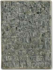 Jasper Johns - Gray numbers