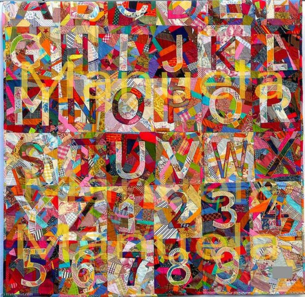 famous painting Order and Disorder of Jasper Johns