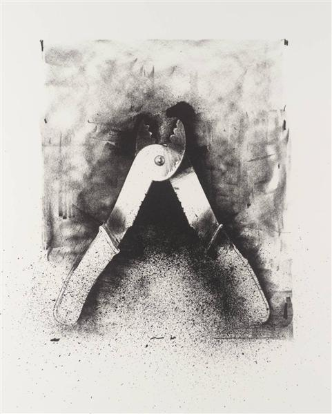 famous painting Untitled (3) of Jim Dine