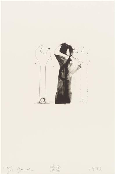 famous painting Untitled (5) of Jim Dine