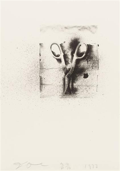 famous painting Untitled (7) of Jim Dine