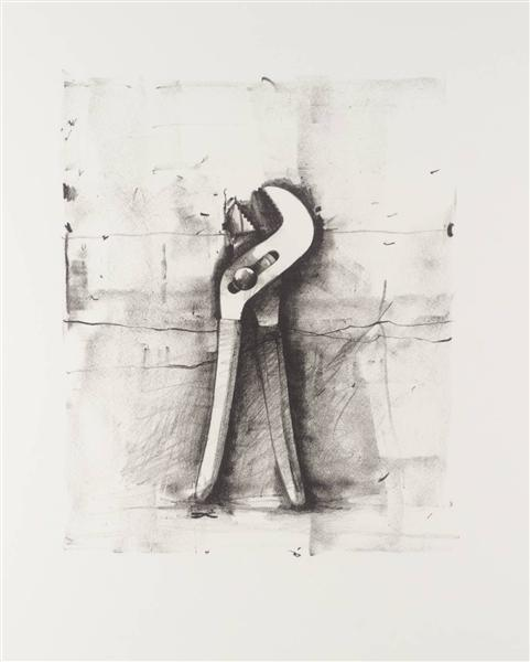 famous painting Untitled of Jim Dine