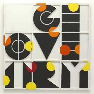 Joe Tilson - Geometry