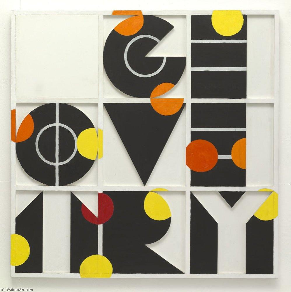 | Geometry by Joe Tilson | BuyPopArt.com