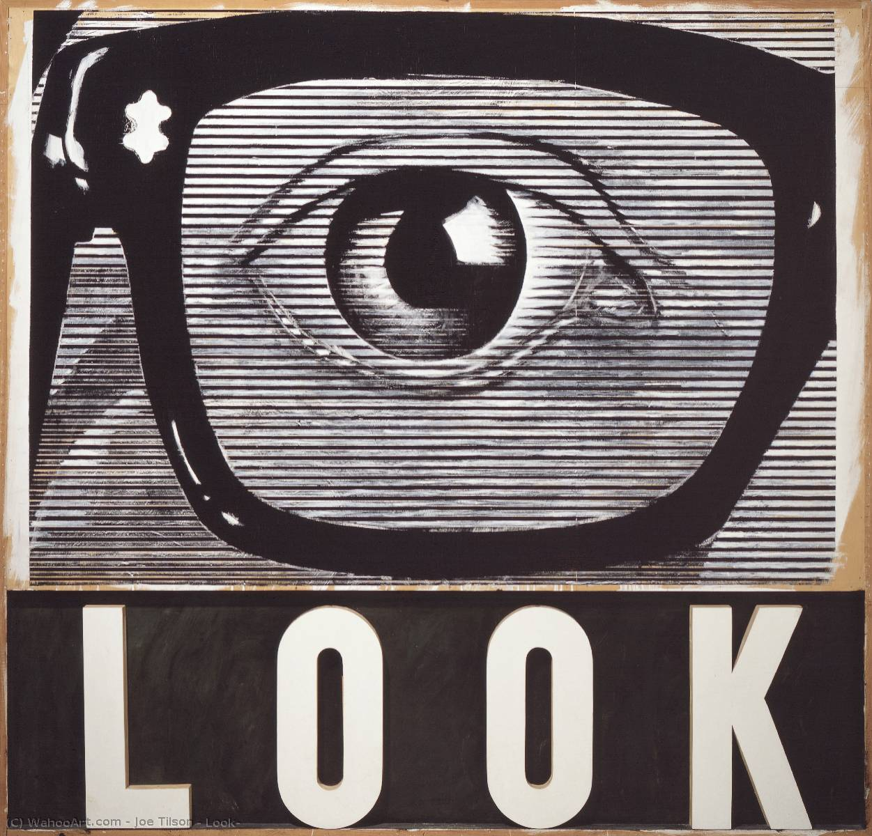 Buy Museum Art Reproductions Pop Art : Look! by Joe Tilson | BuyPopArt.com