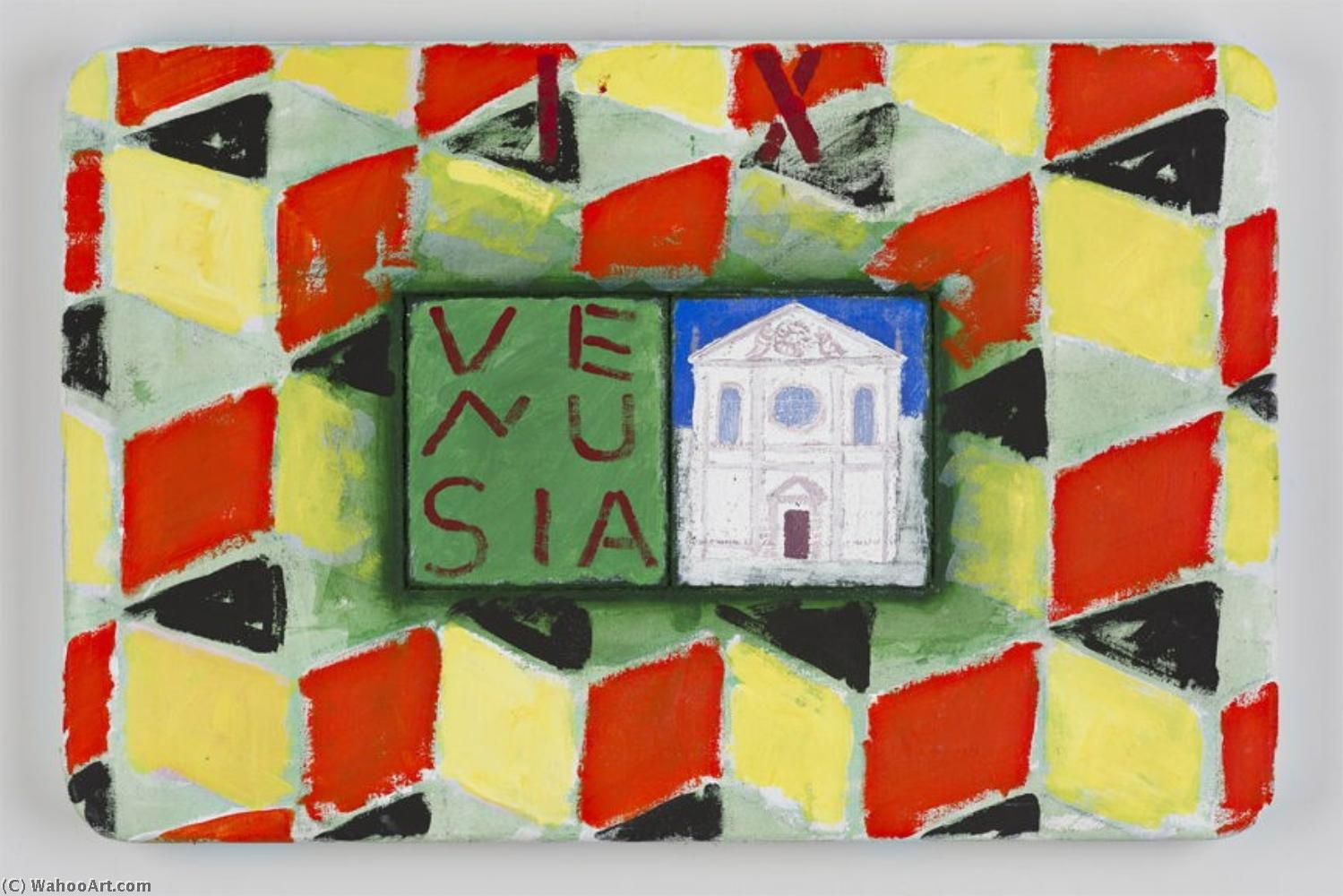 famous painting The Stones of Venice Santa Maria Della Visitazione Venusia of Joe Tilson