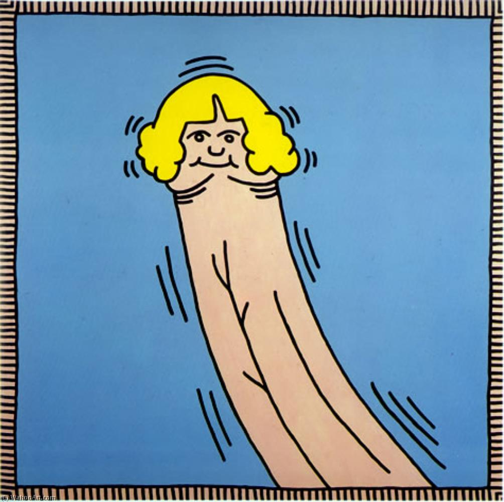 famous painting Debbie dick of Keith Haring