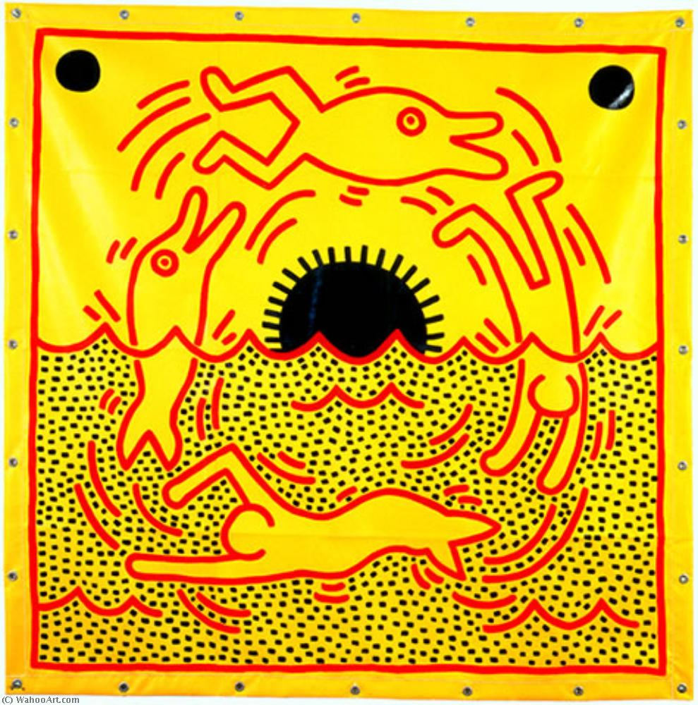 | Untitled (7) by Keith Haring | BuyPopArt.com