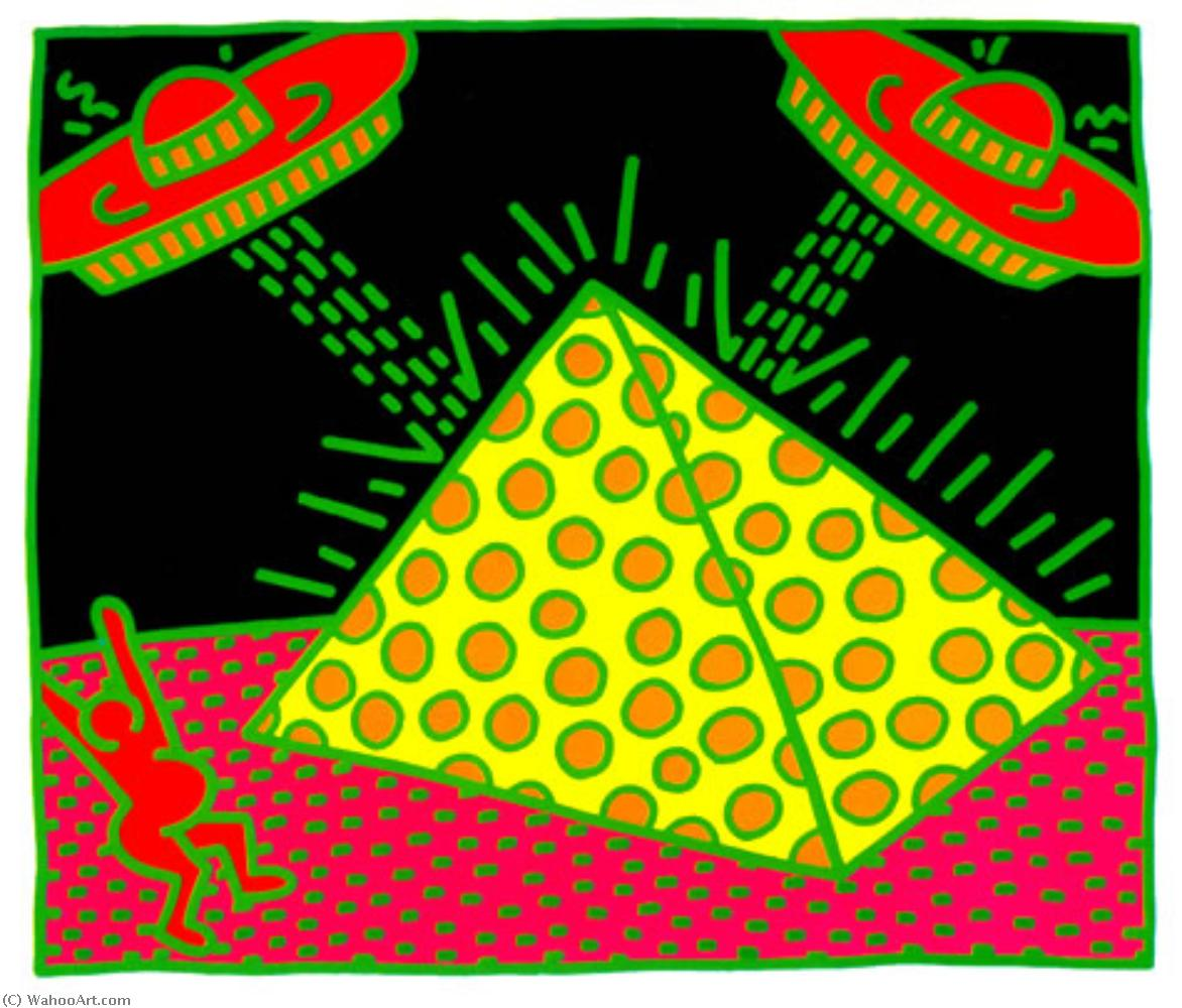 famous painting Untitled (9) of Keith Haring