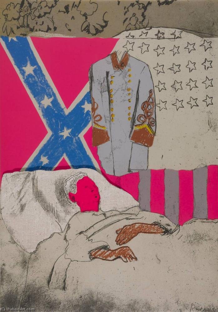 famous painting Confederate soldier of Larry Rivers