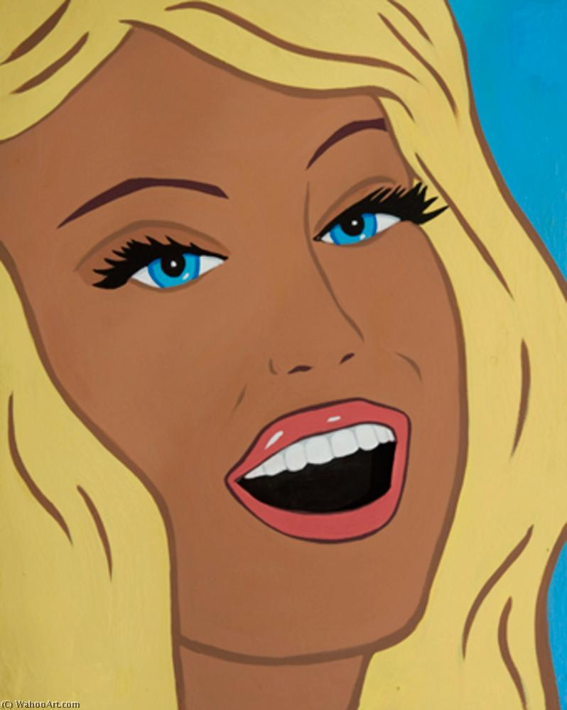 | Smiling blond by Marjorie Strider | BuyPopArt.com