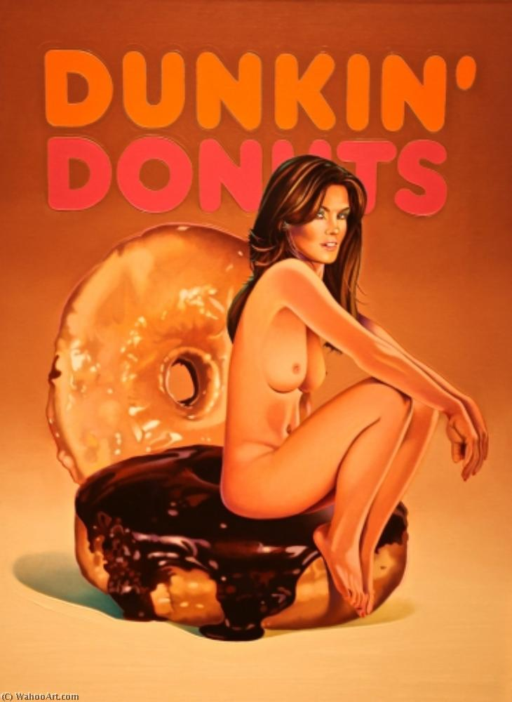famous painting Dunkin ` donuts of Mel Ramos