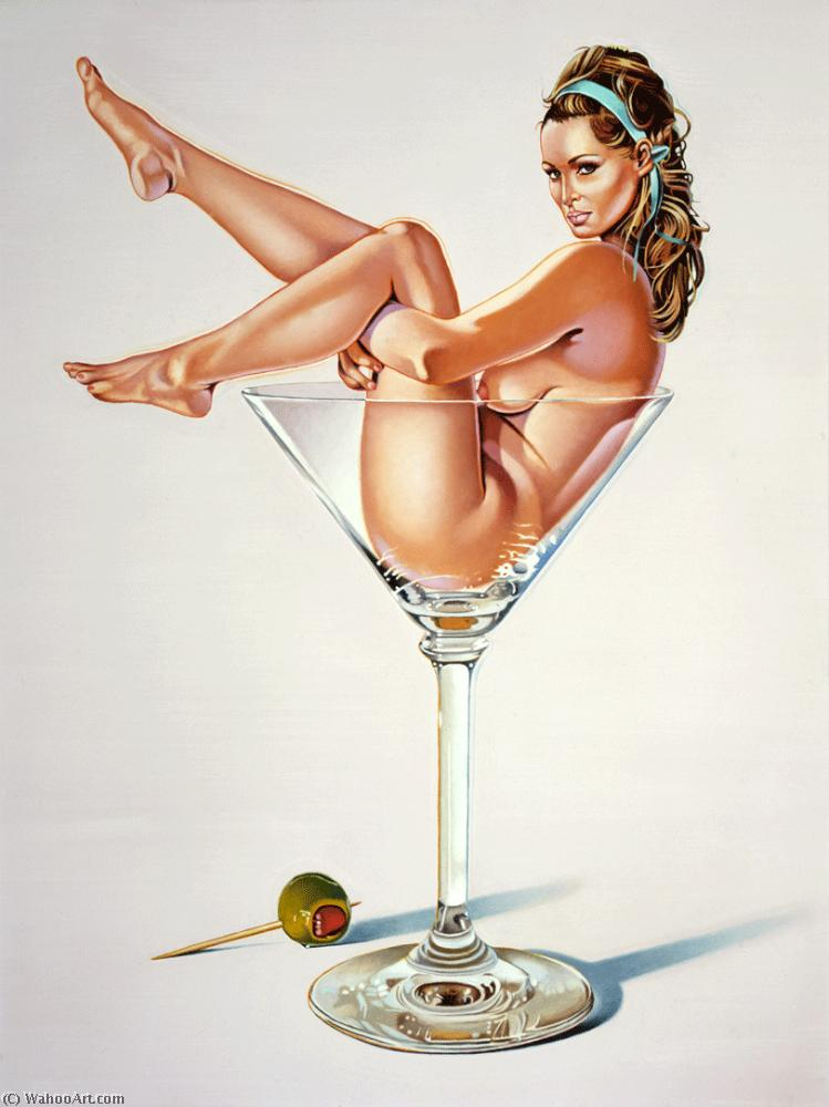 famous painting Martini miss of Mel Ramos