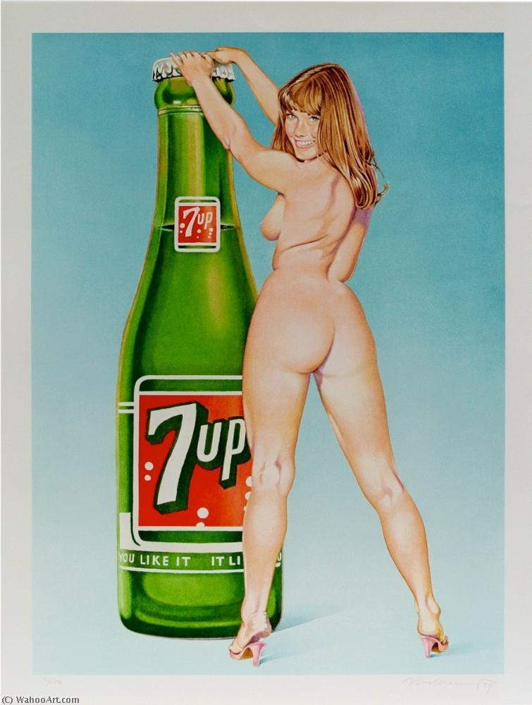 famous painting You like it - Seven up of Mel Ramos