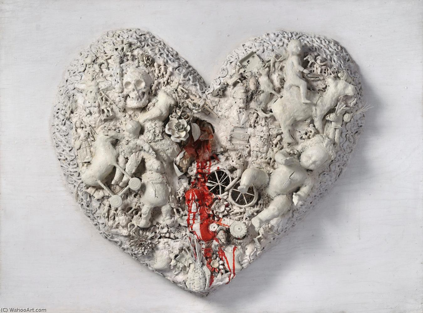 famous painting Heart of Niki De Saint Phalle