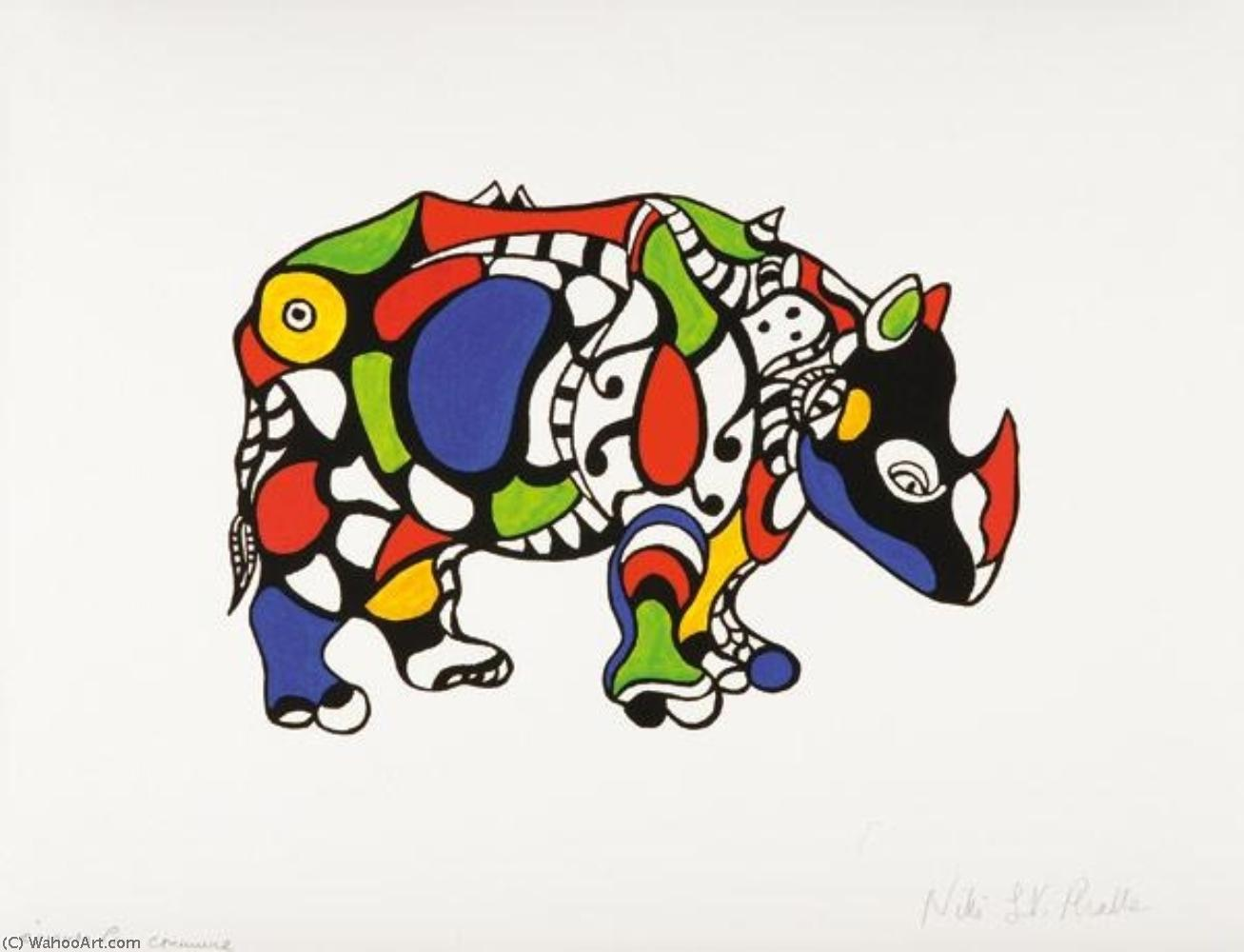 rhinoc ros by niki de saint phalle. Black Bedroom Furniture Sets. Home Design Ideas