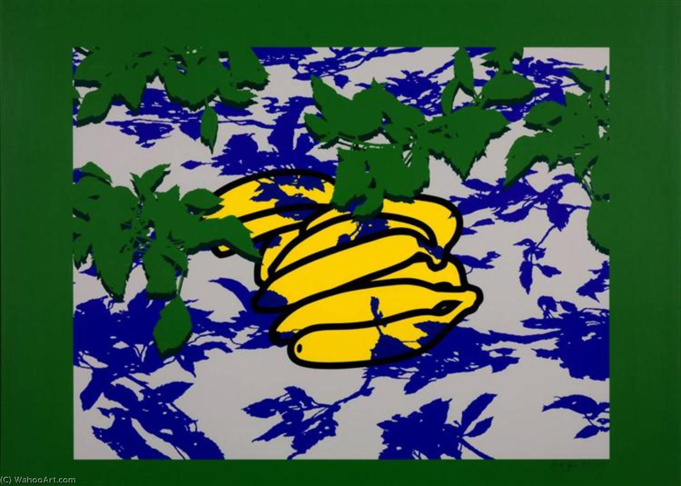 famous painting Bananas and leaves of Patrick Caulfield