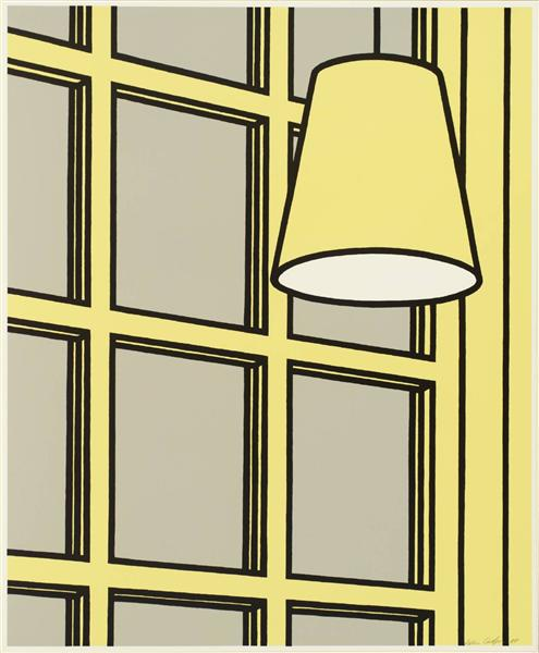 famous painting Interior morning of Patrick Caulfield