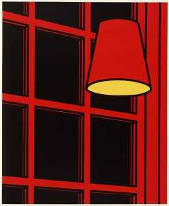Patrick Caulfield - Interior night