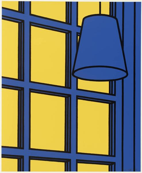 famous painting Interior noon of Patrick Caulfield