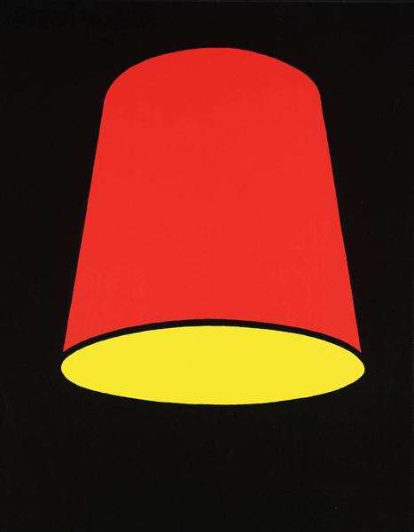 famous painting Lampshade of Patrick Caulfield