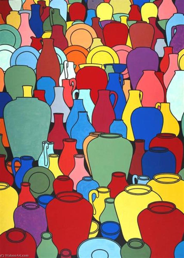 famous painting Pottery of Patrick Caulfield