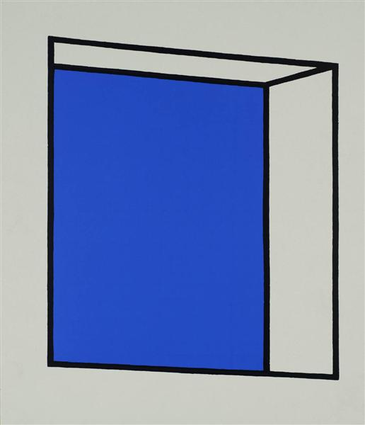 famous painting Small window of Patrick Caulfield