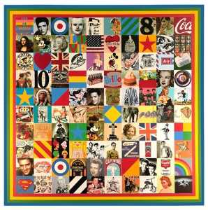 Peter Blake - 100 Sources of Pop Art