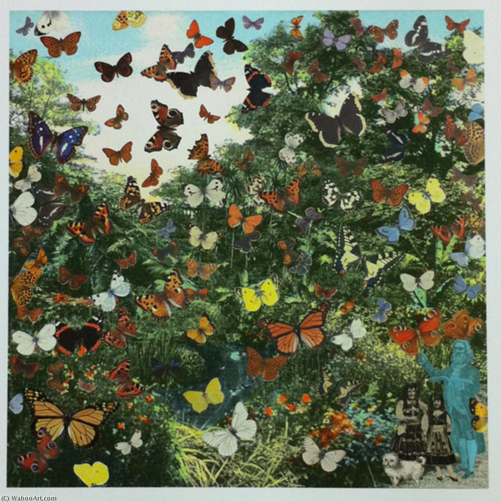 famous painting Appearance of the Butterfly Man of Peter Blake