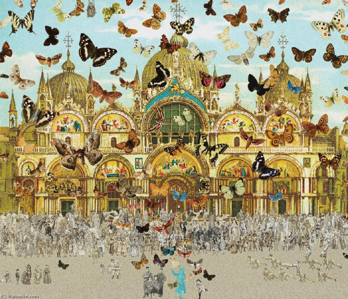 famous painting Butteflyman tunis of Peter Blake