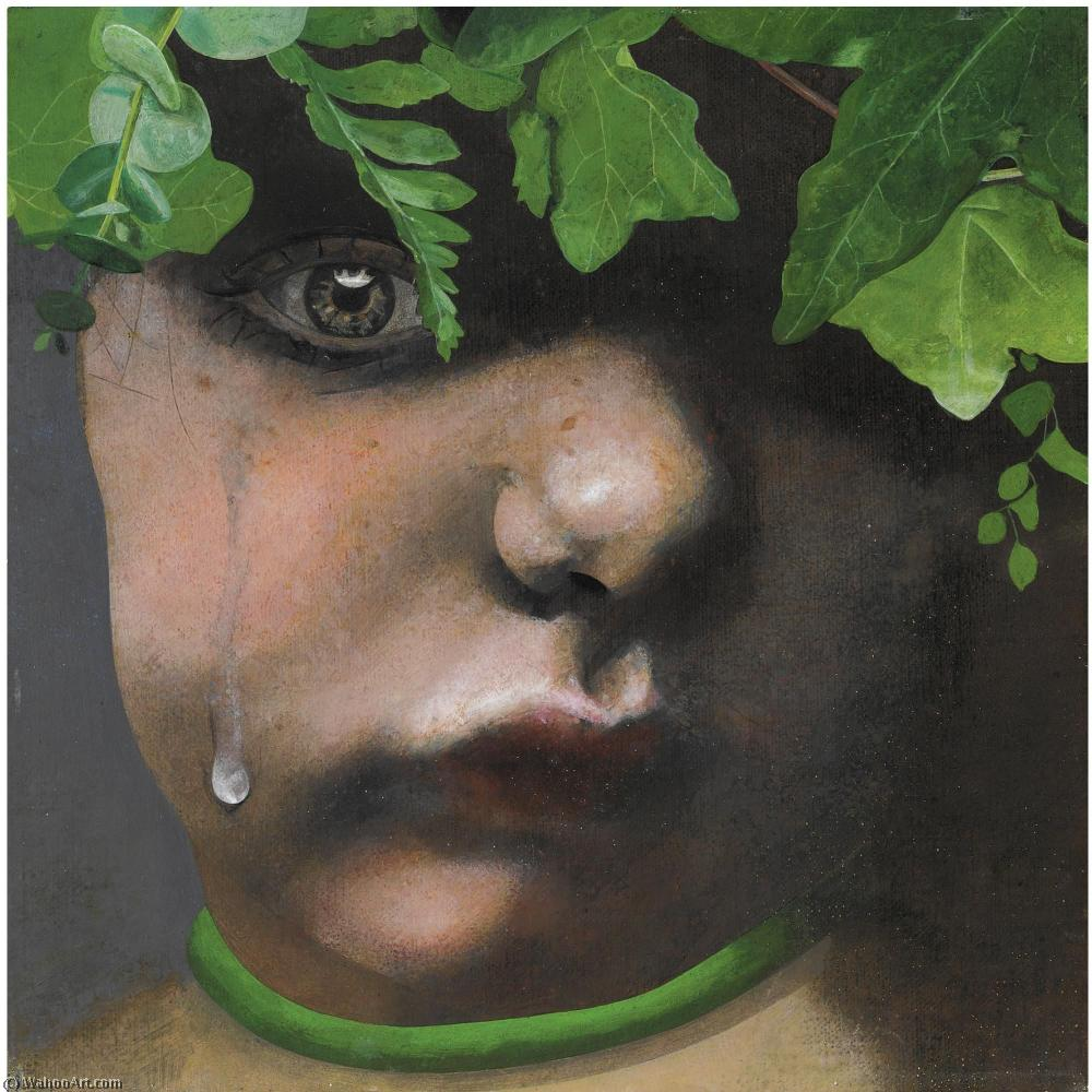 famous painting Fairy child crying of Peter Blake