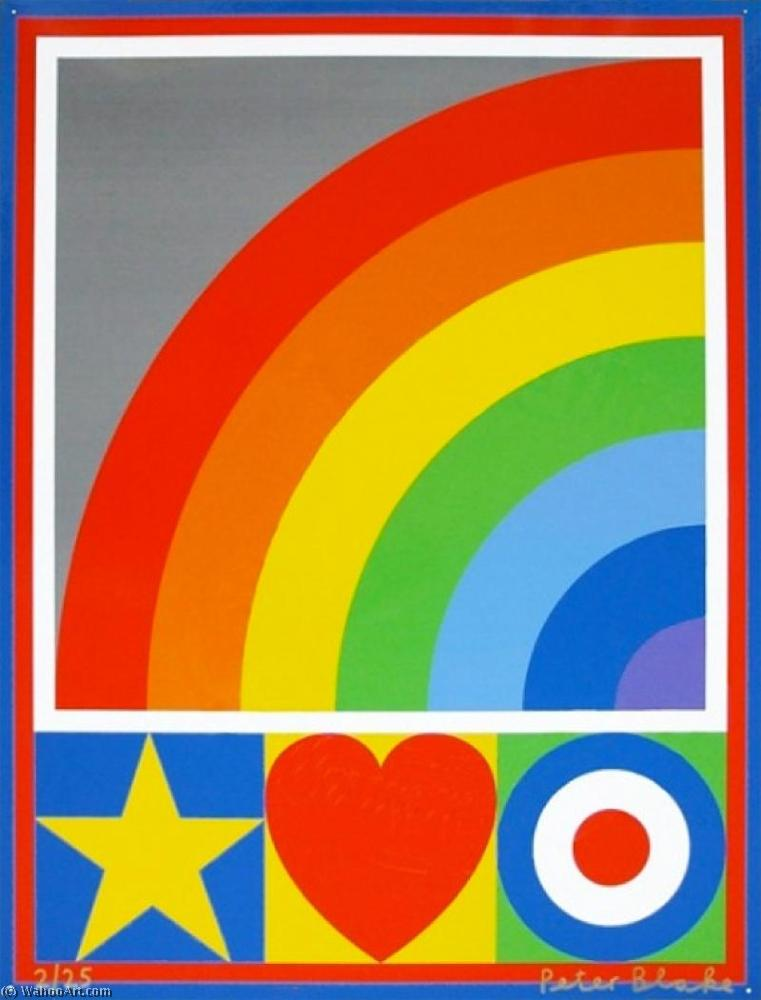 famous painting Motif suite (rainbow ) of Peter Blake