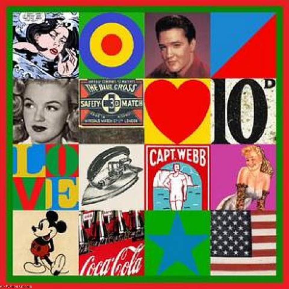famous painting Source of Art (3) of Peter Blake