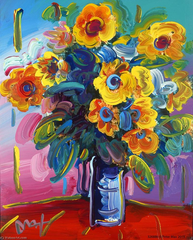 | Flower by Peter Max | BuyPopArt.com