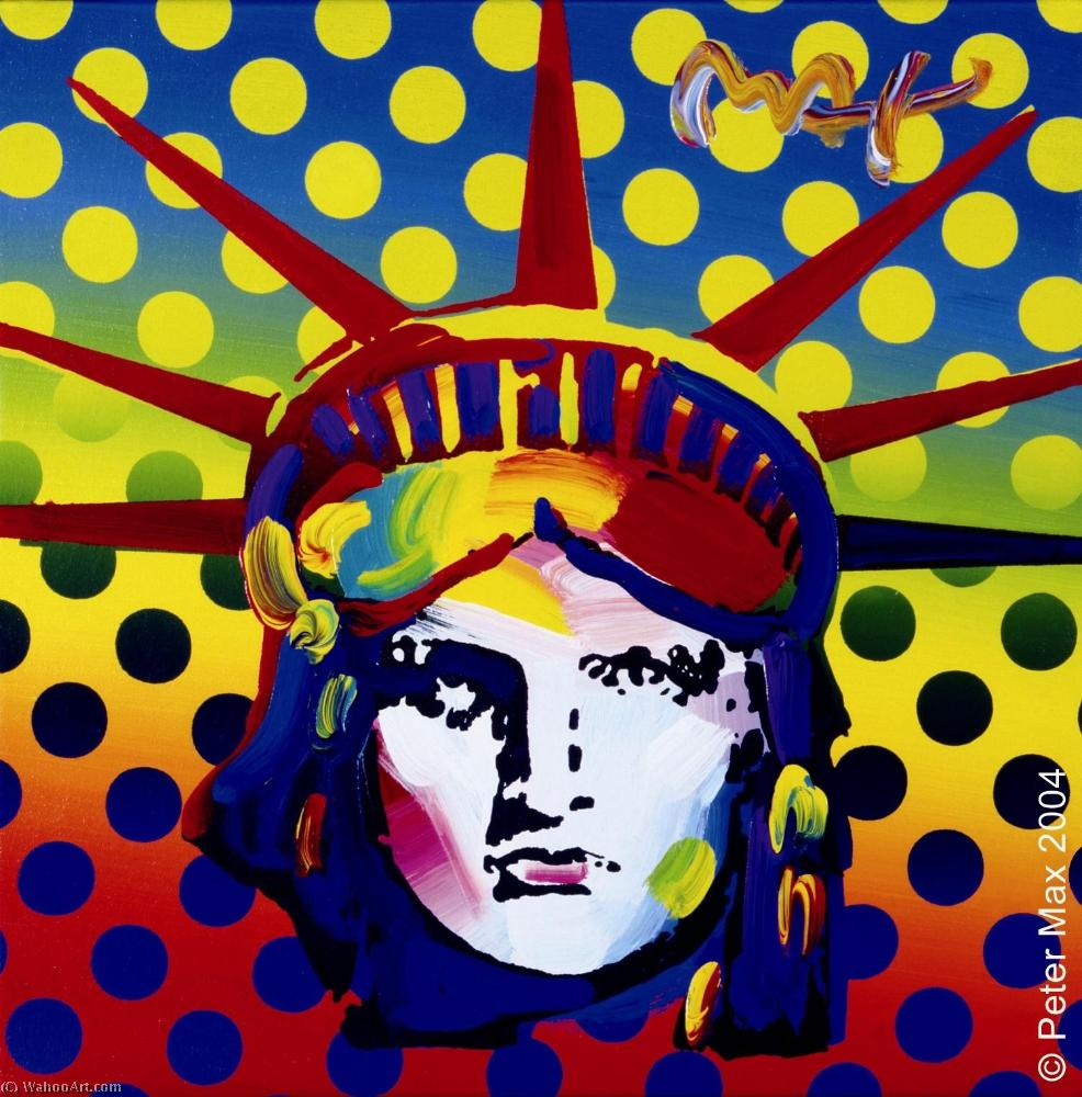 famous painting Head large of Peter Max